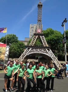 DYPC performing at Bastilles Days